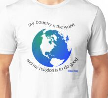 My Country is the World Unisex T-Shirt