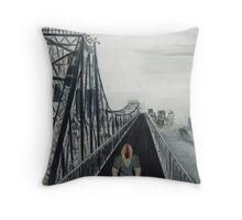 A Great Ride - Original Sold Throw Pillow