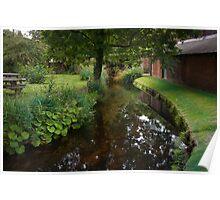 Still Waters Run Deep - Morden Hall Park, London. Poster