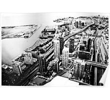 Toronto's skyscrapers Poster