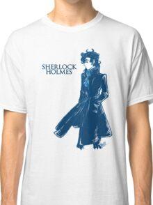 Sherlock Holmes - Blue Classic T-Shirt