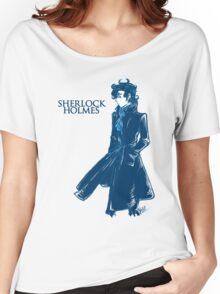 Sherlock Holmes - Blue Women's Relaxed Fit T-Shirt