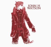 John Watson - Red - Text by Sno-Oki