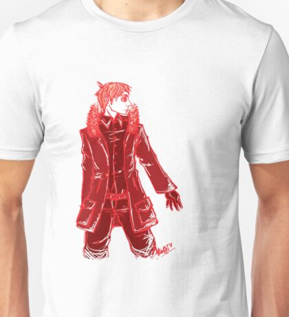 John Watson - Red - No Text Unisex T-Shirt