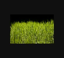 Green fresh bright grass leaves Unisex T-Shirt