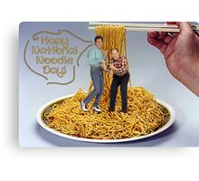 National Noodle Day Canvas Print