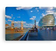 Tower Bridge and City Hall Metal Print