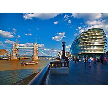 Tower Bridge and City Hall Photographic Print