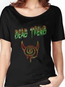 Dead Trend: Death to Lollipop Vampires Women's Relaxed Fit T-Shirt