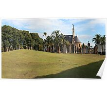 Michael the Archangel Chapel Panorama Poster
