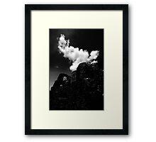 Cloud over Giants Framed Print