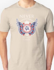 Never Underestimate The Power Of Carey - Tshirts & Accessories T-Shirt