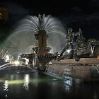 Archibald Fountain Hyde Park Sydney by Ian Berry
