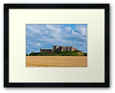 Bamburgh Castle by Trevor Kersley