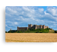 Bamburgh Castle Canvas Print