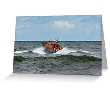"RNLI Lifeboat - ""Grace Darling"" Greeting Card"