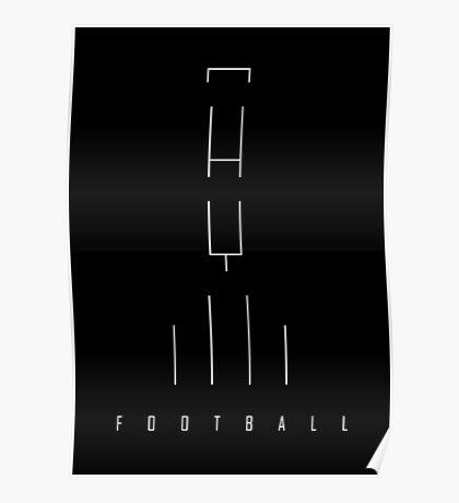 Football Goals (white version) Poster