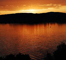 lake zurich sunset by MikeTheYokel