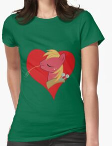 I have a crush on... Big Macintosh Womens Fitted T-Shirt