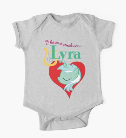 I have a crush on... Lyra - with text Kids Clothes