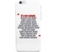 It's very simple iPhone Case/Skin