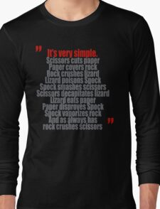 It's very simple Long Sleeve T-Shirt