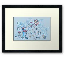 Mario Party Framed Print