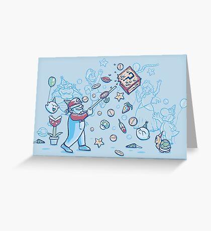 Mario Party Greeting Card