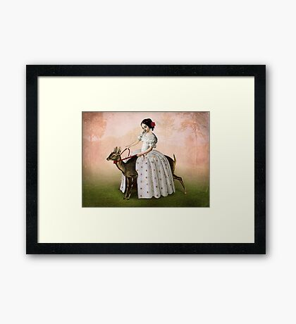 Ride at Dawn Framed Print