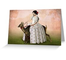 Ride at Dawn Greeting Card
