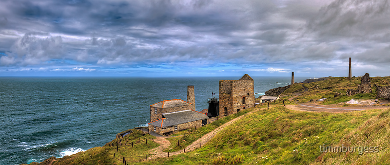 Cornish Tin Mines by timmburgess