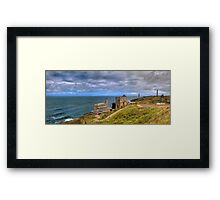Cornish Tin Mines Framed Print