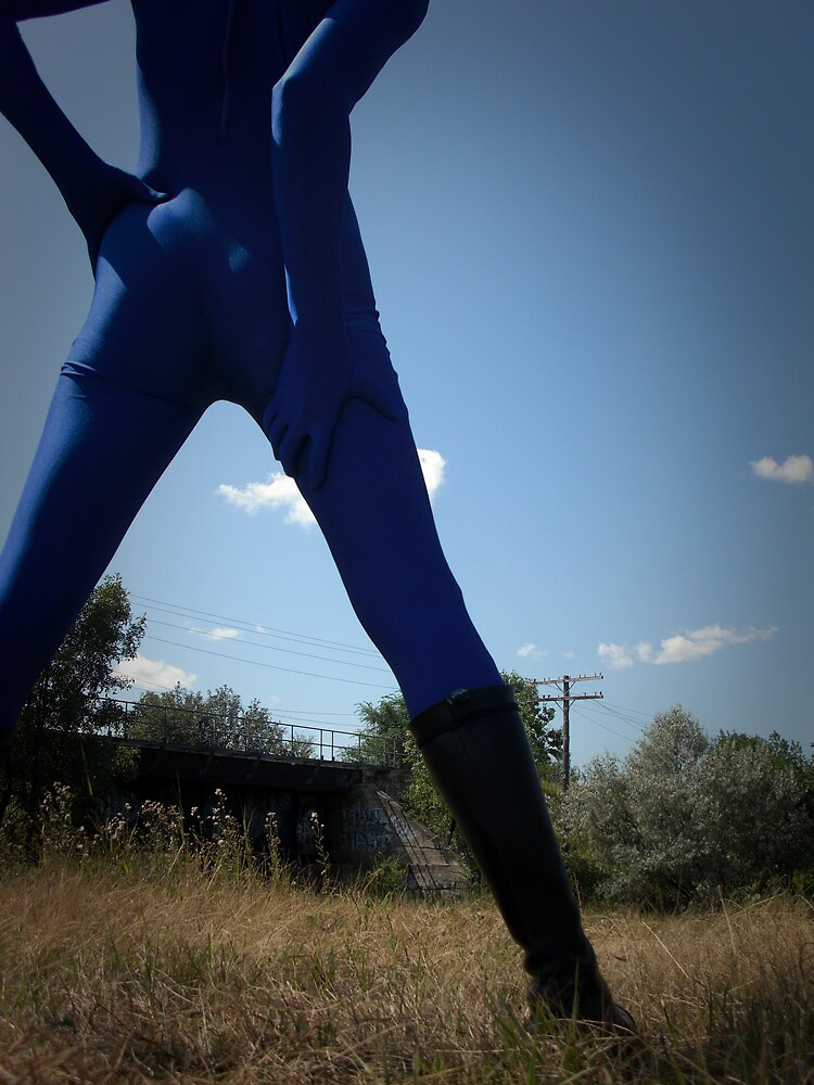 Blue Solitary Set II Pic 03 by mdkgraphics
