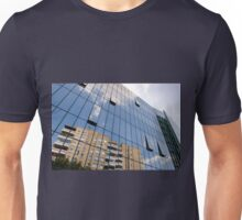 modern skyscraper with glass wall Unisex T-Shirt