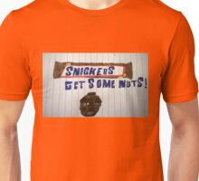 Snickers Get some Nuts Mr T Unisex T-Shirt