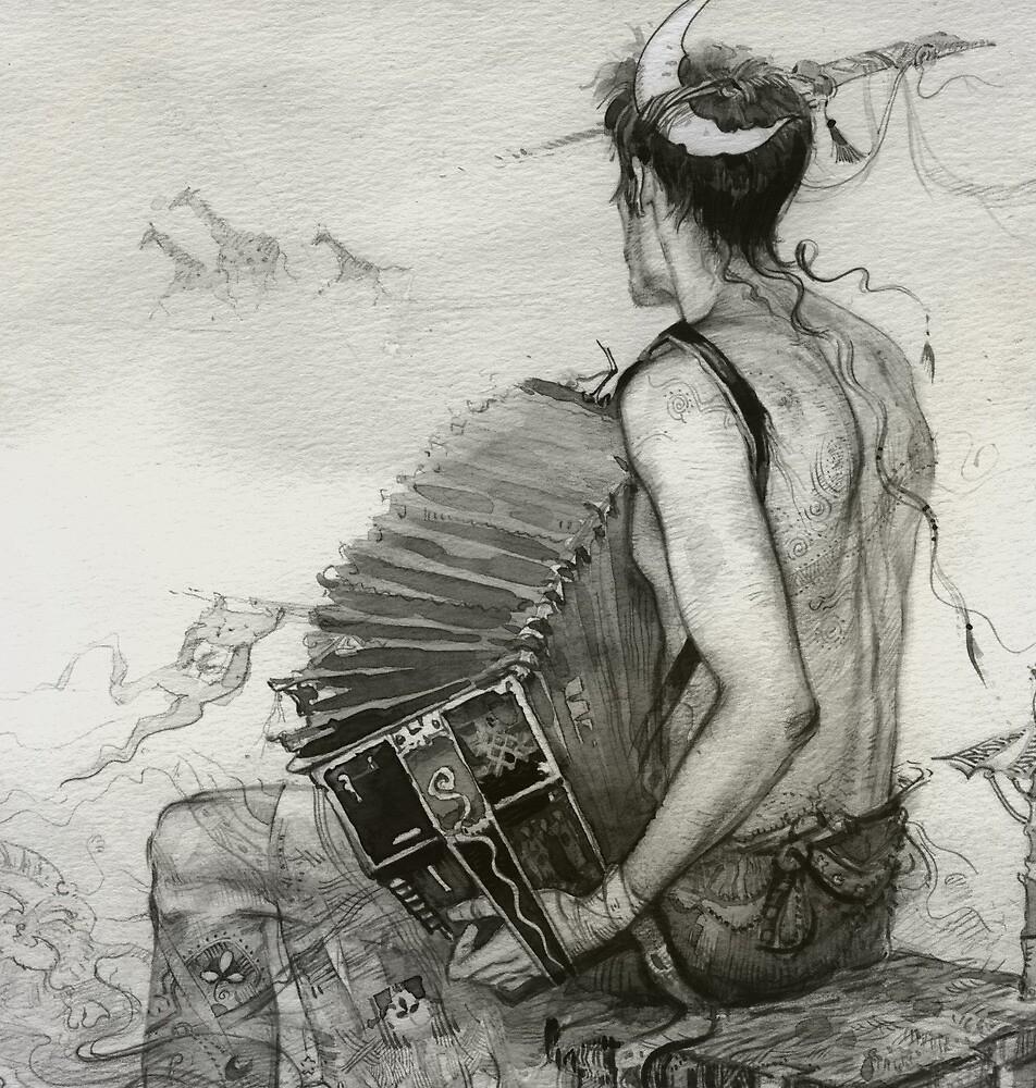 prophet (3) by Natalya   Tabatchikova