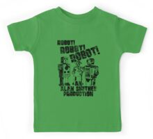 B Movie Robots. Kids Tee