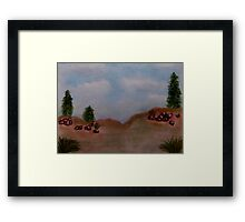 Beauty of the Skies Framed Print