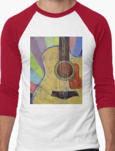 Sunrise Guitar Men's Baseball ¾ T-Shirt