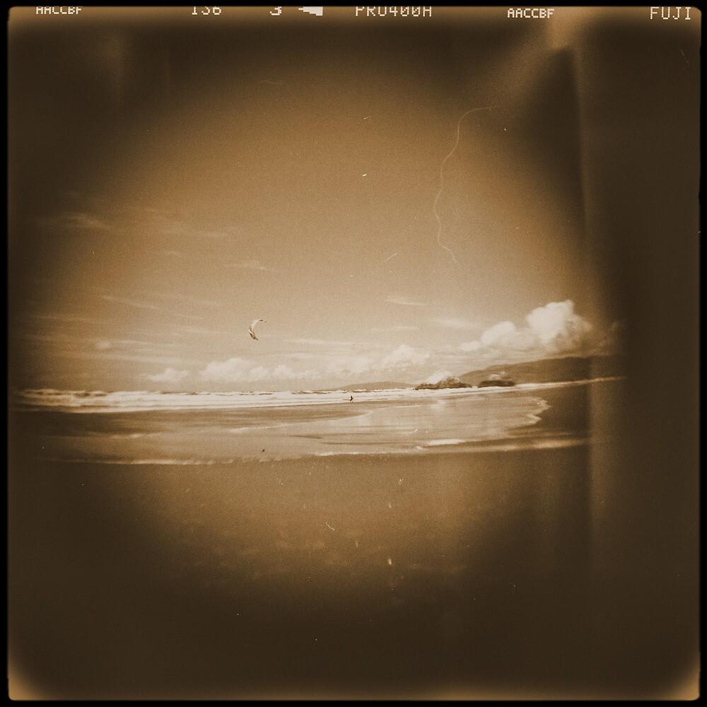 Kitesurfing by Jill Auville