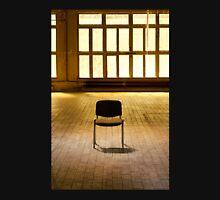 Lone chair empty hall  Unisex T-Shirt