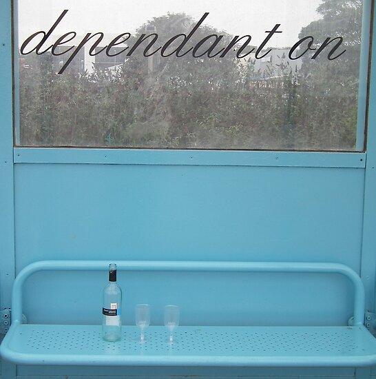 Empty Bottle, Empty Glasses by Stephen Willmer
