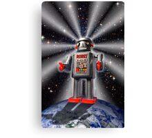 Earth Robot Canvas Print