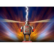 Angry Robot Photographic Print