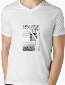 Who is that? Mens V-Neck T-Shirt
