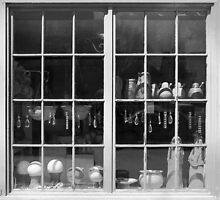 Shop Window - Newport, RI by Peter Stratton