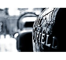 Royal Enfield Photographic Print