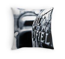 Royal Enfield Throw Pillow