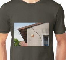 Architecture detail of damaged house Unisex T-Shirt