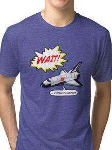 Transformers Shuttle Tri-blend T-Shirt